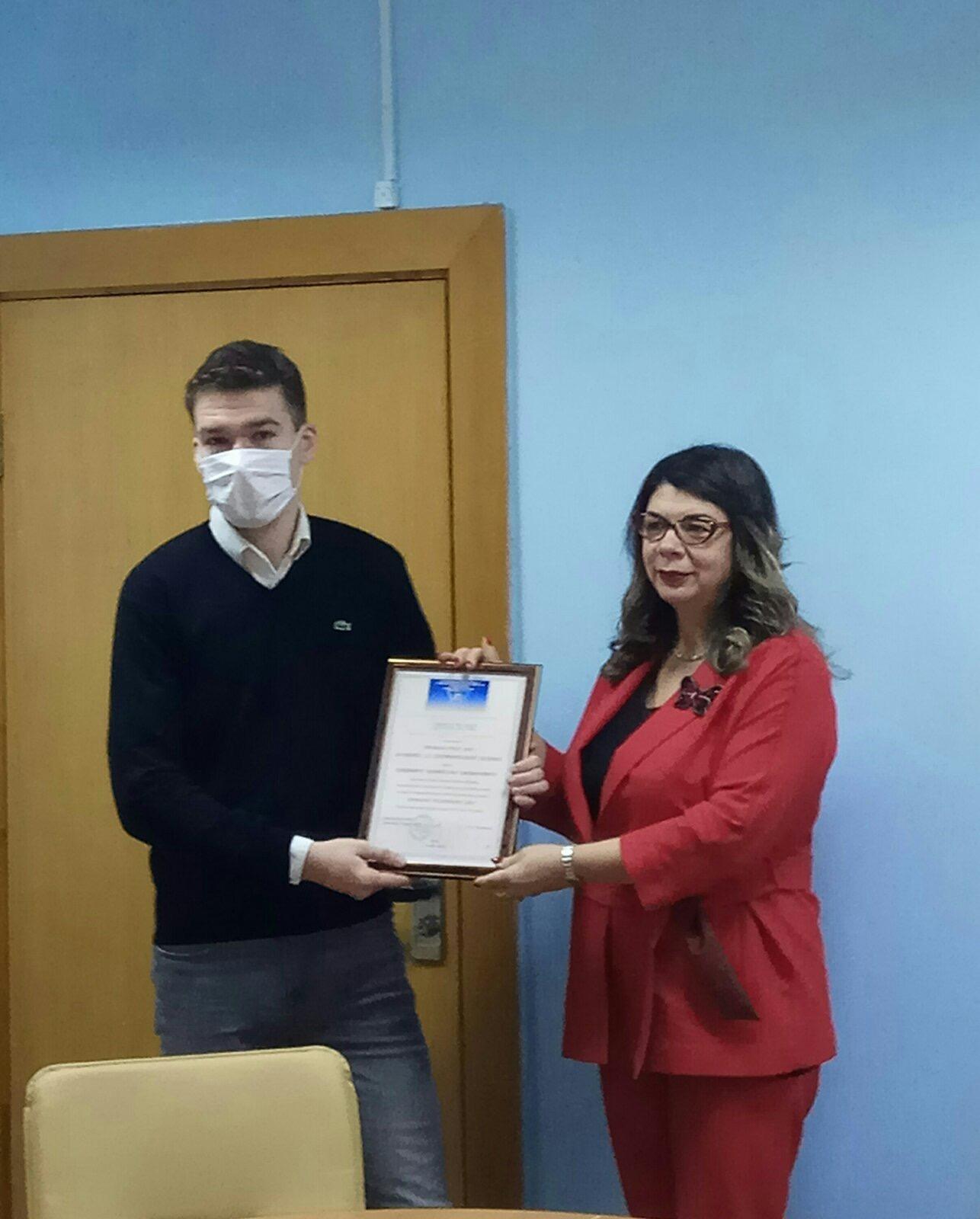 Славный почин: студенты ФЭУ зарегистрировали первую компанию на базе Технопарка ГрГУ