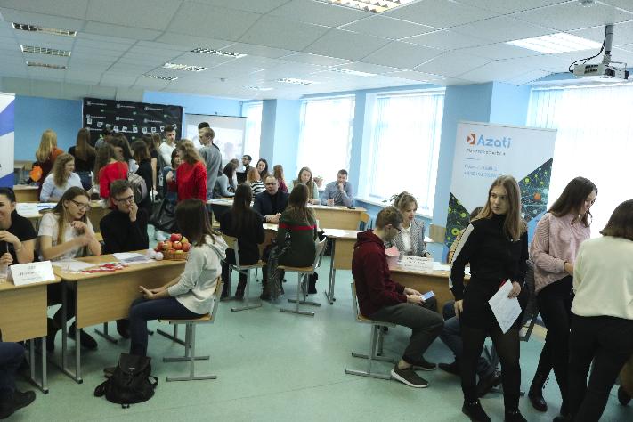 «Биржа предпринимательских вакансий» – новые возможности и перспективы для студентов факультета экономики и управления