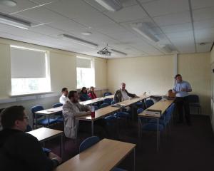 Представители кафедры МИОЭС поделились опытом в Килском университете (Великобритания)