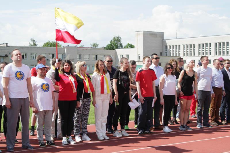 Преподаватели и сотрудники факультета экономики и управления приняли участие в фестивале летних видов спорта