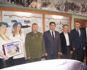 Представители первичной организации ОО «Белорусский союз женщин» купаловского университета приняли участие в торжественном открытии музея ВОВ