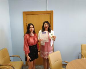 Студентка ФЭУ Виолетта Кветень стала дипломантом университетского конкурса студентов исследователей